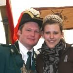König 2008 Markus Dall mit Königin Nicole Berger